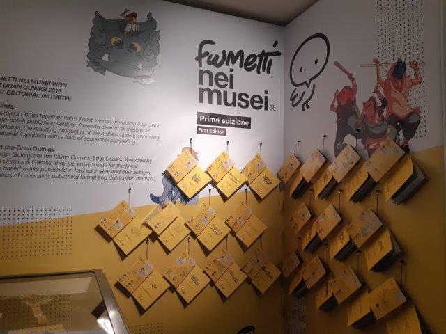 """""""Fumetti nei musei"""": Il fumetto per raccontare un museo"""