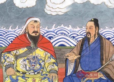Gengis Khan e il monaco taoista