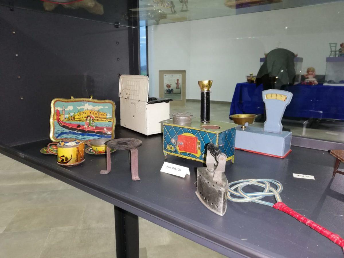 Giocattoli d'epoca in mostra al Museo