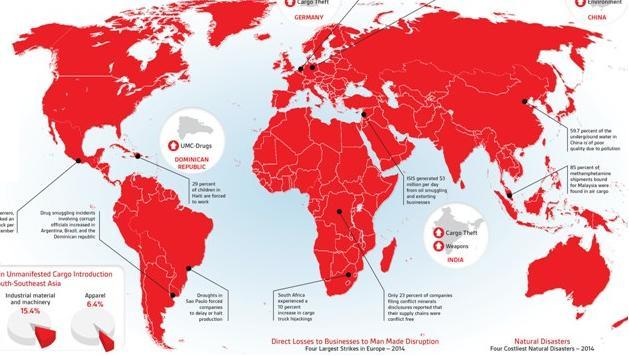 GLOBAL SUPPLY CHAIN INTELLIGENCE REPORT: 33MLD DI DOLLARI PERSI IN DISASTRI NATURALI