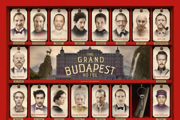 GRAND BUDAPEST HOTEL DI WES ANDERSON NELLE SALE ITALIANE