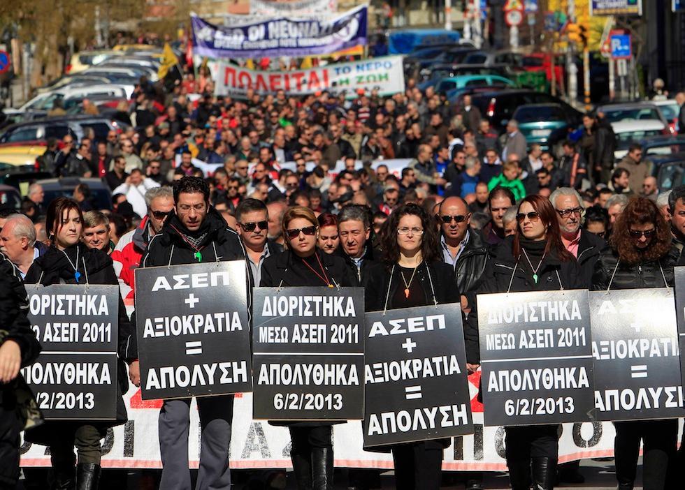 GRECIA: PERICOLO NUOVO FASCISMO