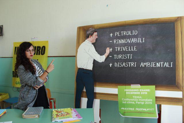 """Greenpeace Napoli: """"Scelte energetiche sbagliate"""