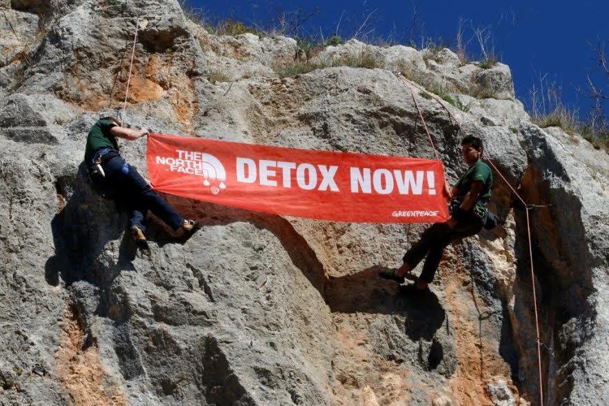 Greenpeace: per dire no alle sostanze chimiche pericolose
