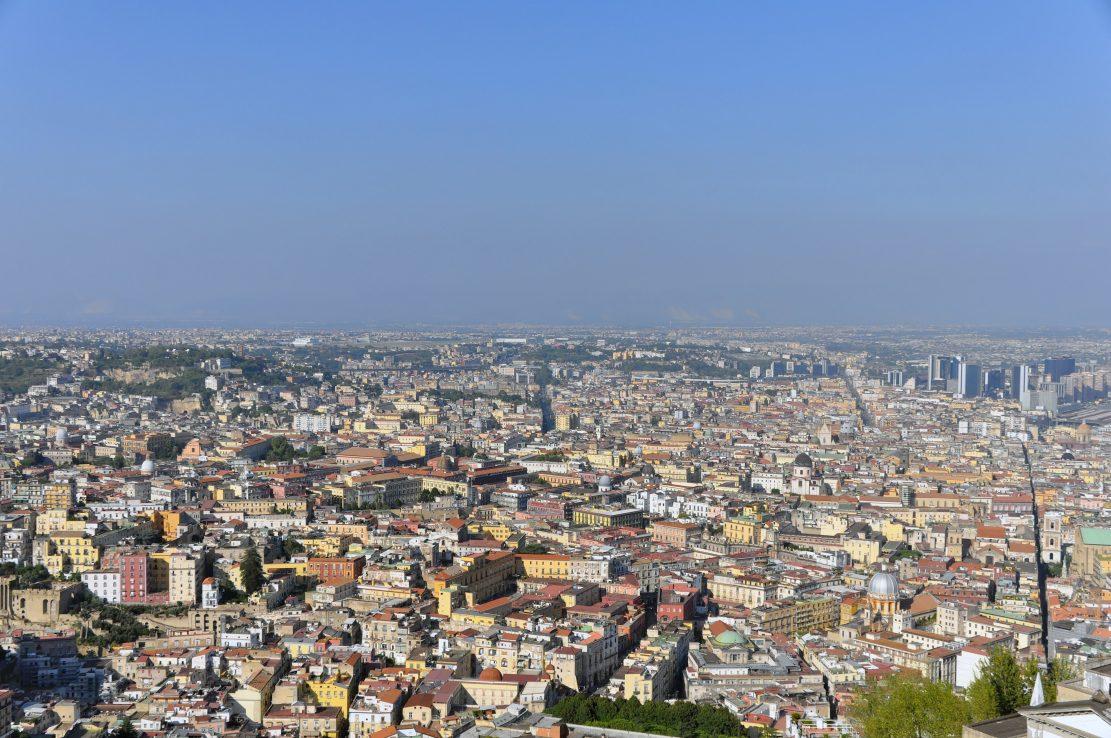 """I lavori stradali del Grande Progetto """"Centro storico di Napoli"""""""