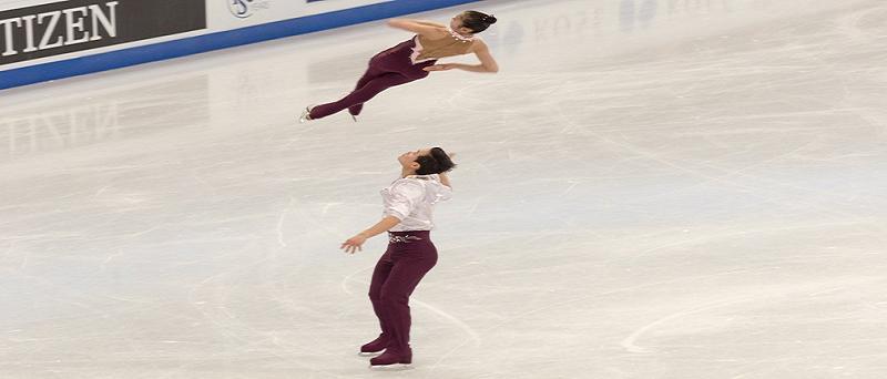 I pattinatori nordcoreani per le Olimpiadi invernali