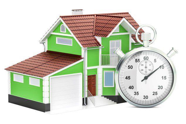 I tempi di vendita degli immobili continuano a diminiure