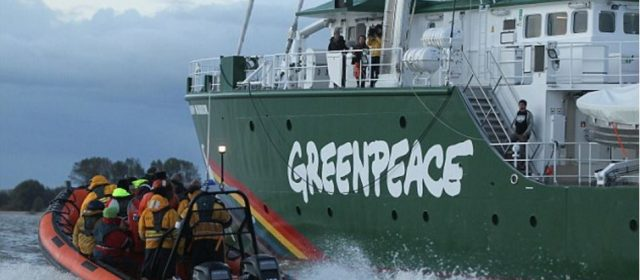 I trent'anni di GreenPeace