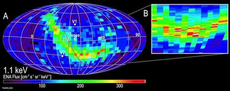 Il 'boomerang interstellare' di IBEX