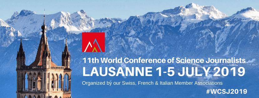 Il Cnr al World congress of science journalists 2019