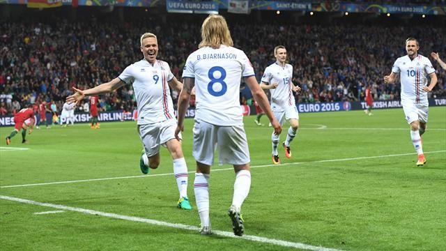 Il cuore dell'Islanda ferma il Portogallo