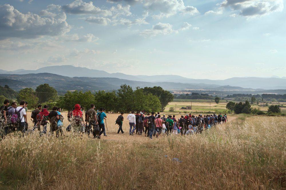 Il lungo cammino dei migranti attraverso la via dei Balcani