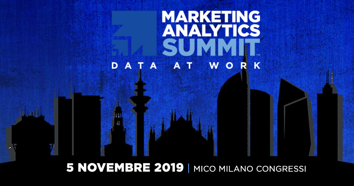 Il Marketing Analytics Summit per la prima volta in Italia