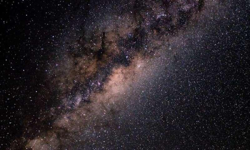 Il mistero dell'antimateria della Via Lattea