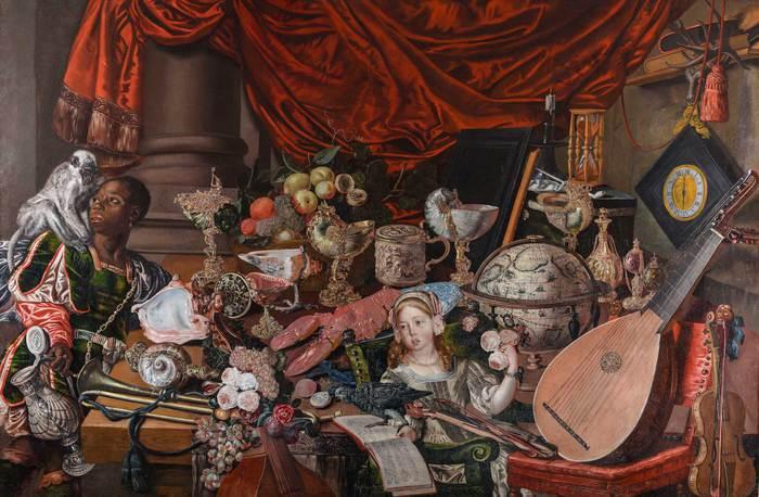 Il mistero della ragazza nascosta nel dipinto 'The Paston Treasure'
