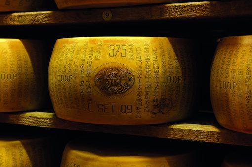 Il parmigiano è il formaggio più rubato nel mondo