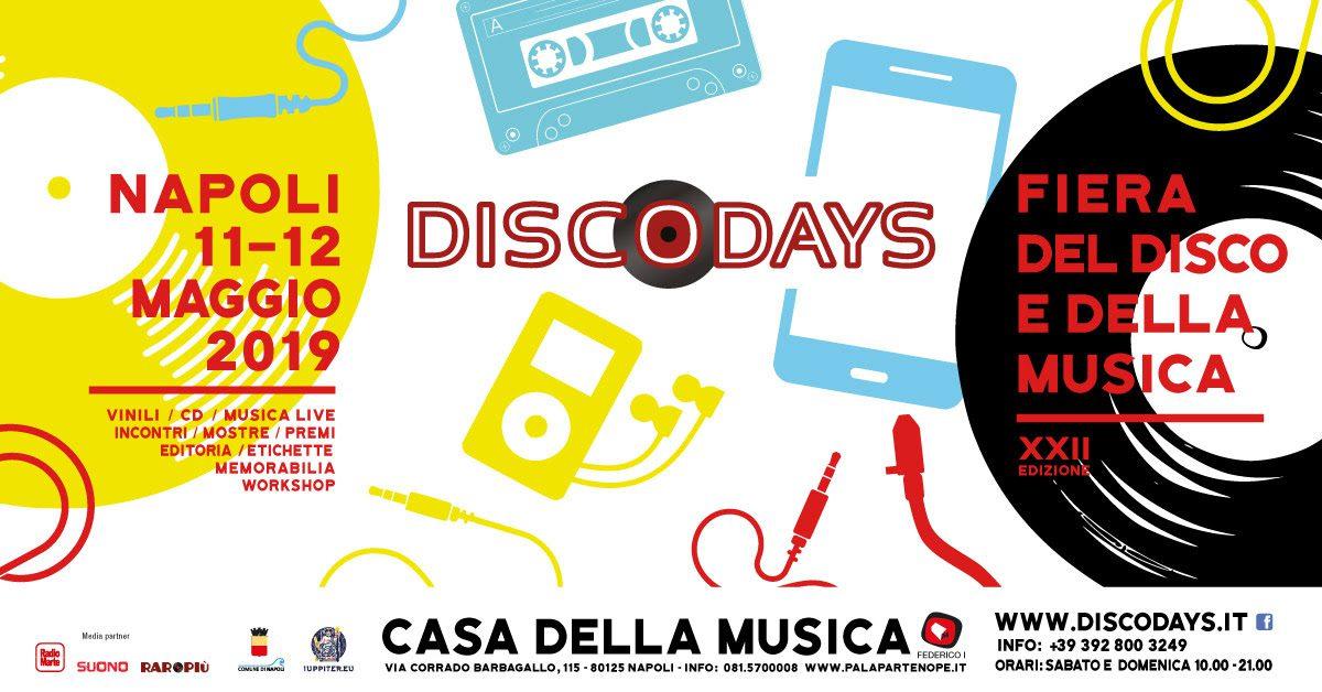 Il ritorno di DiscoDays al Palapartenope di Napoli