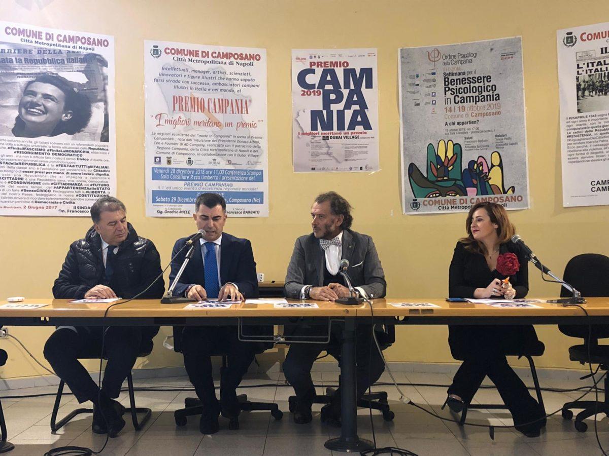 Il talento del Sud è di scena al Premio Campania