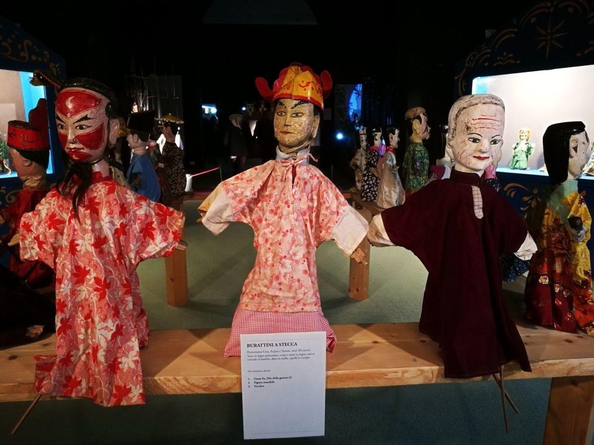 Il teatro di figura cinese al Mann