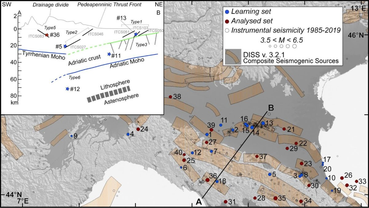 INGV: un metodo innovativo per stimare la profondità dei terremoti storici
