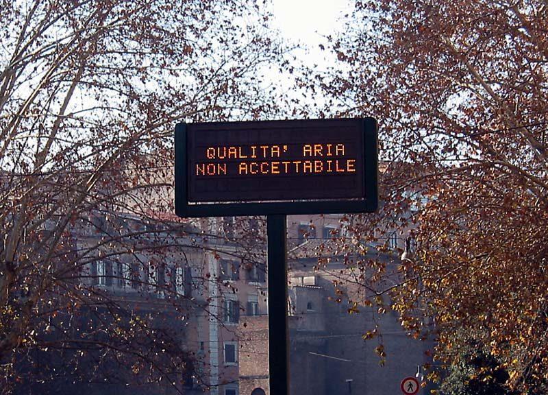 Inquinamento in città: situazione da gestire