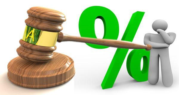 L'aumento degli interessi legali