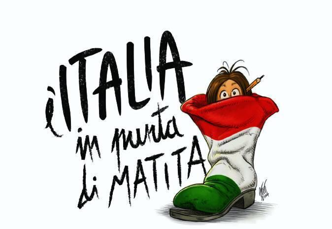 """ITALIA IN PUNTA DI MATITA"""