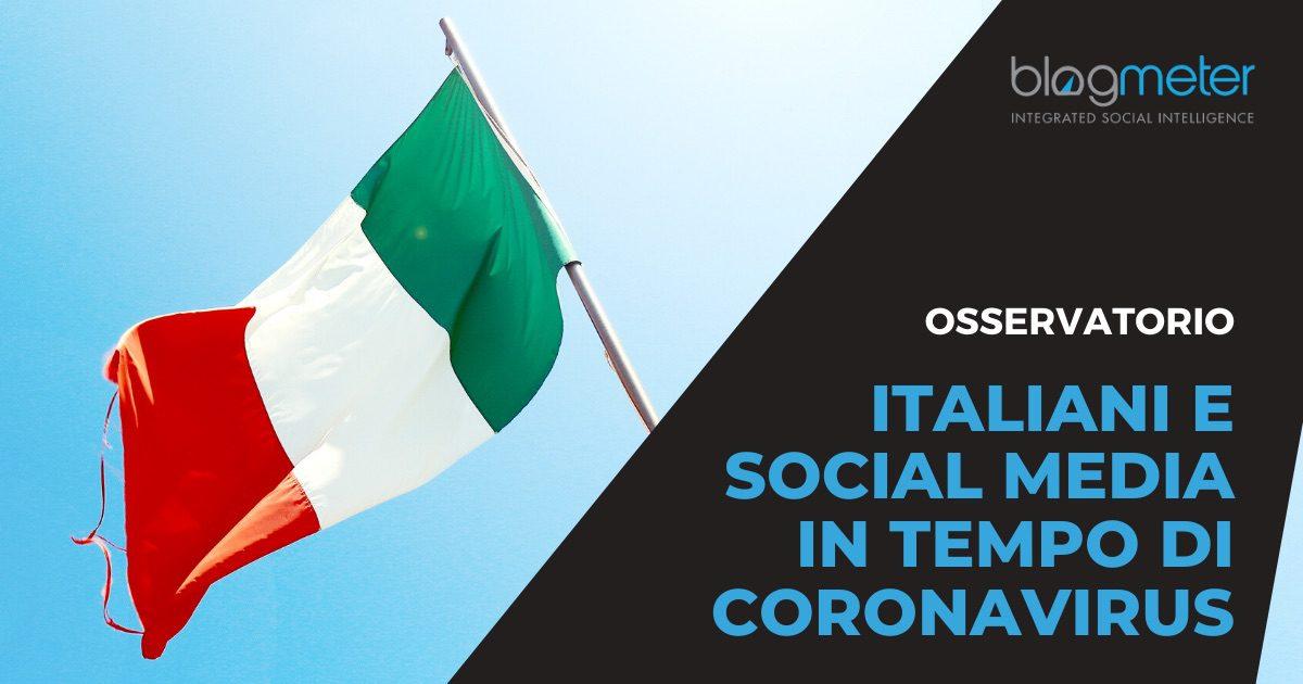"""""""Italiani e Social Media in tempo di Coronavirus"""""""