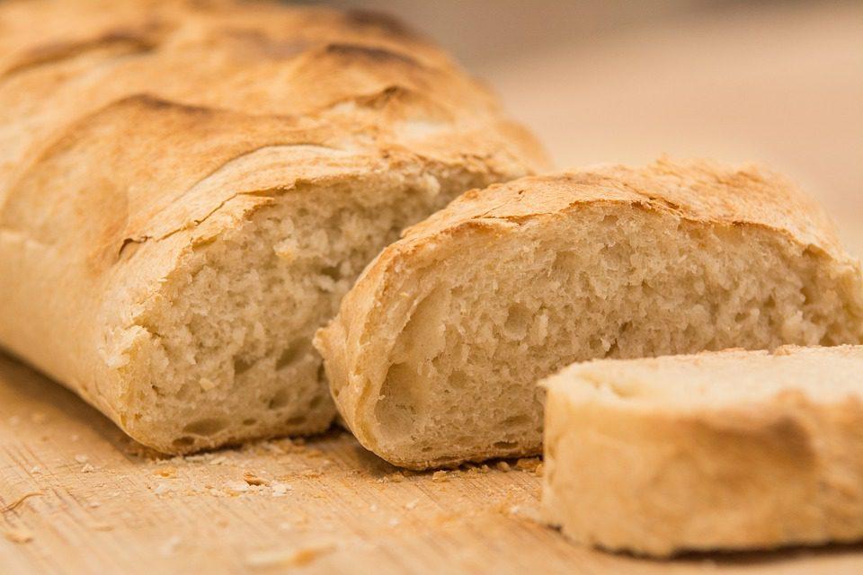L'etichetta per il pane fresco