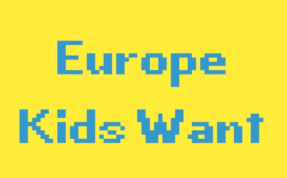 L'Europa che vogliono i bambini