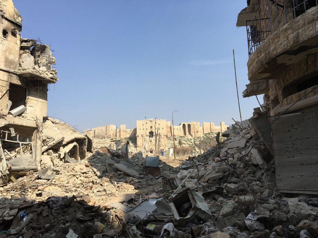 L'ottavo anno di guerra in Siria