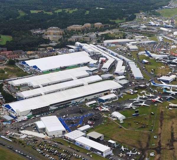 La Campania al Farnborough International Airshow 2018