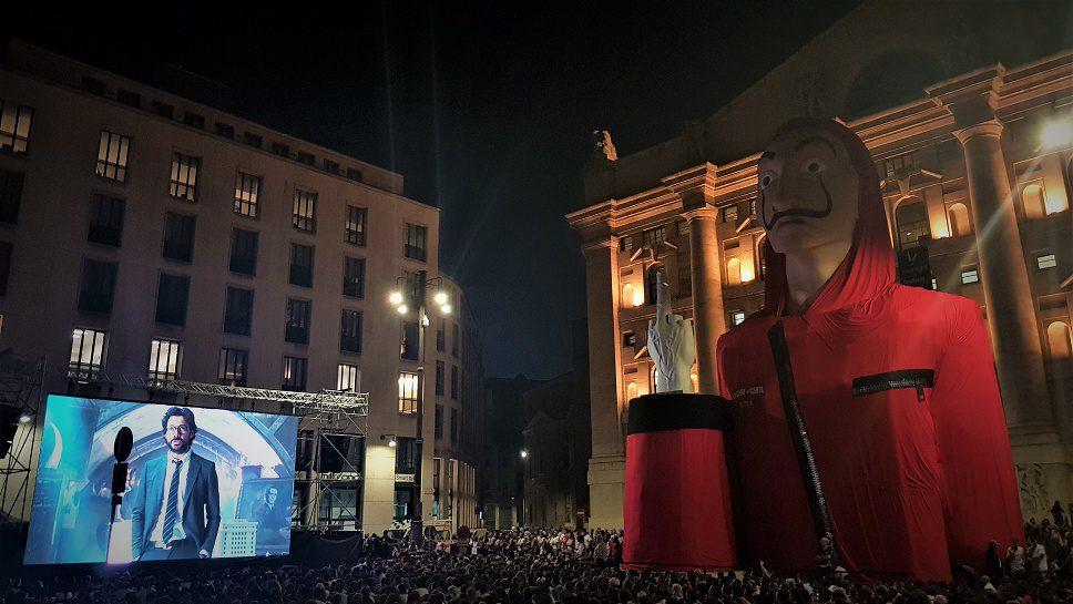 La Casa di Carta conquista l'Italia