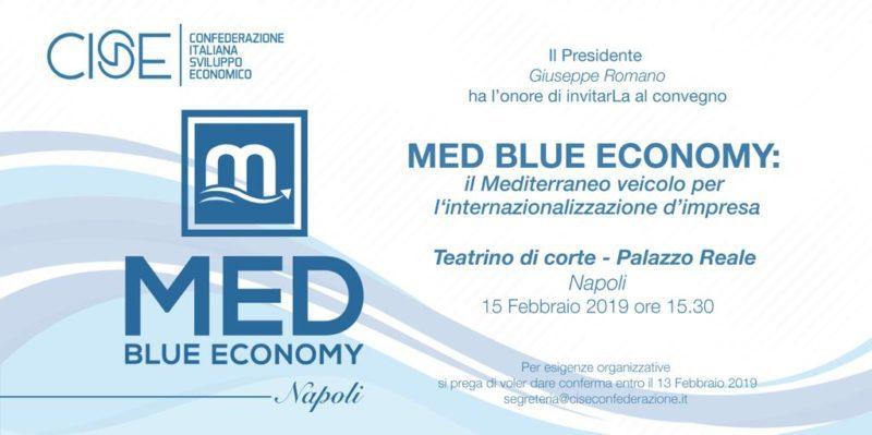 La convention Med Blue Economy