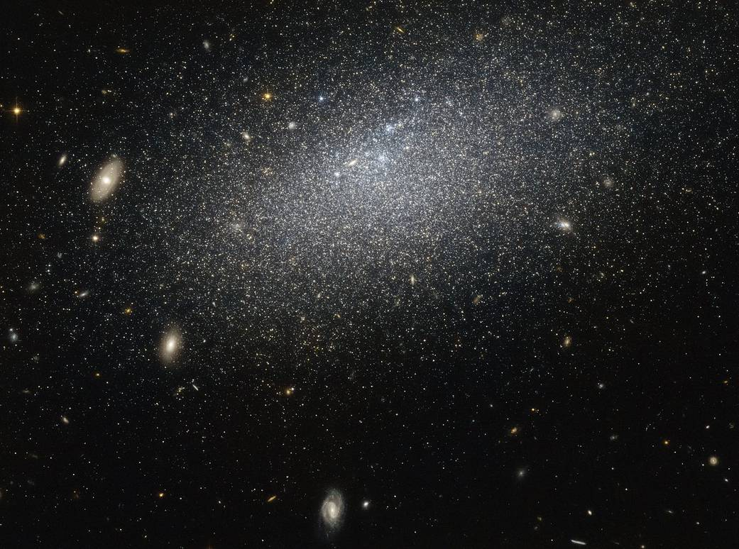 La galassia eremita