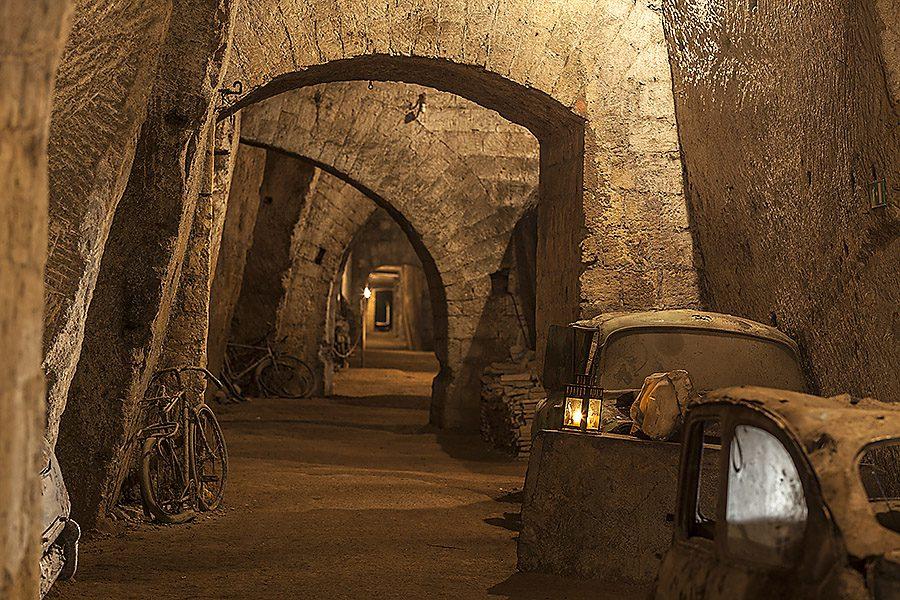 La Galleria Borbonica di Napoli in 3D