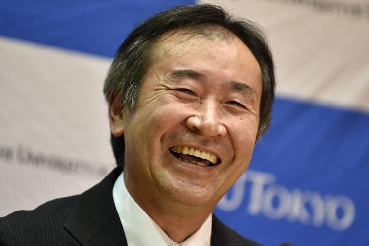 La laurea honoris causa per Takaaki Kajita