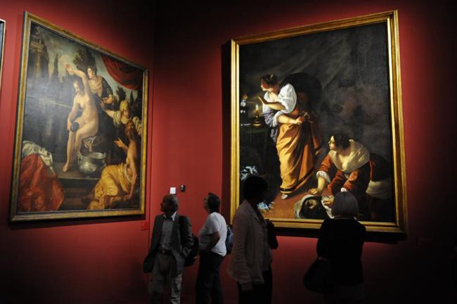 "La mostra ""Artemisia Gentileschi"""