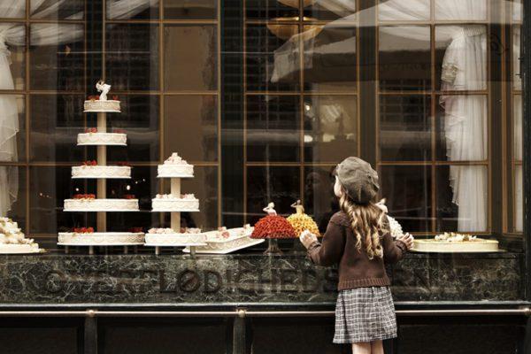 La pasticceria danese tra salotti d'epoca e storie d'amore