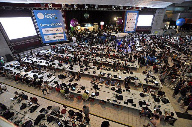 La prima edizione italiana di Campus Party