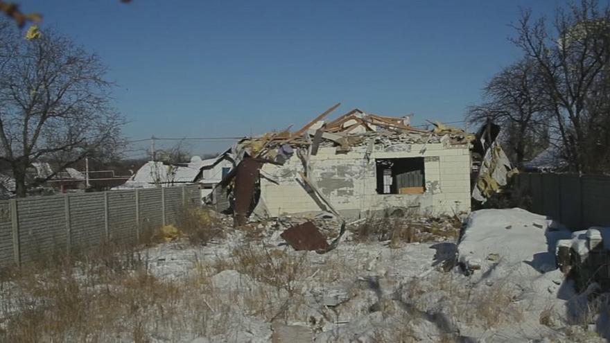 La situazione disperata dell'Ucraina orientale dopo i recenti bombardamenti