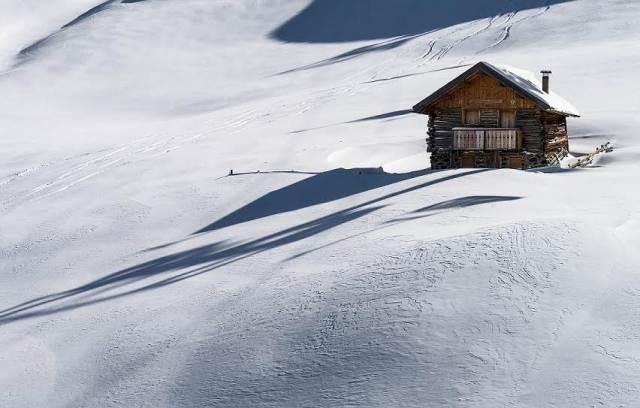 La spesa per la casa vacanza invernale