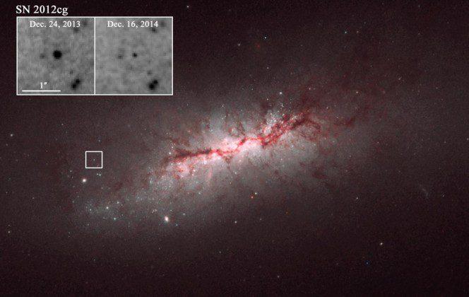 La supernova che continua a brillare