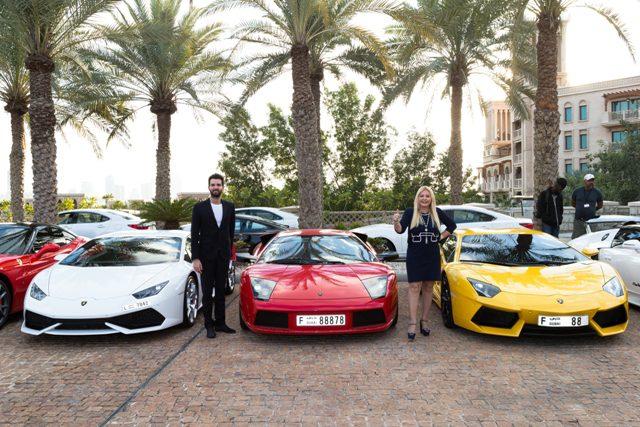 """Lamborghini """"gareggia"""" sul grande schermo con ambi"""