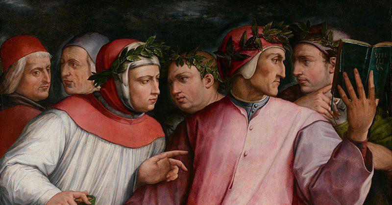 Le Tre corone dell' Aureo Trecento - La gerarchia della disparità