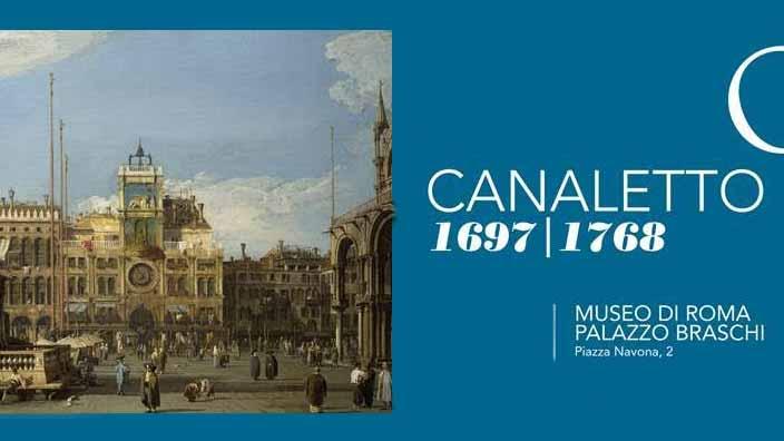 """Le  """"vedute""""  del Canaletto a Palazzo Braschi"""