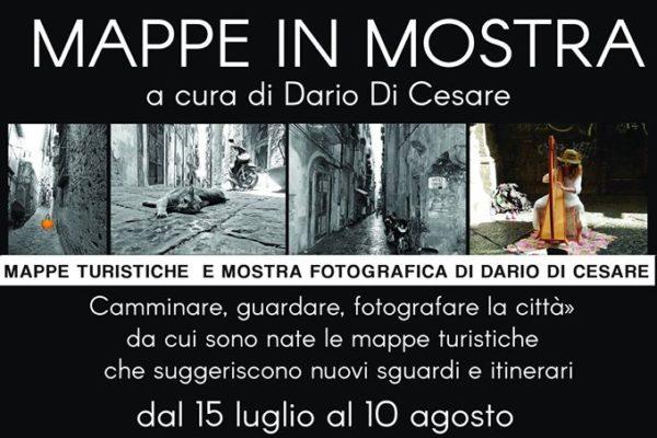 Mappe e vicoli di Napoli in mostra