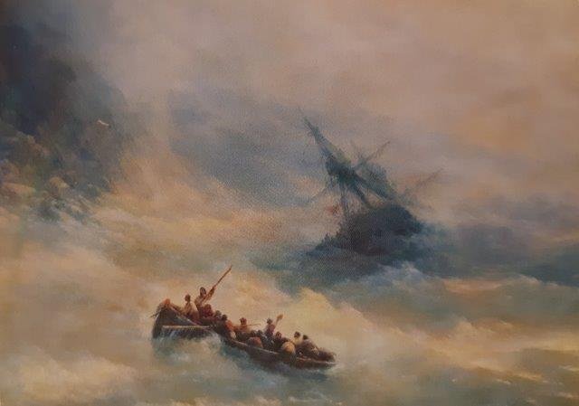 Mari in tempesta: la passione del pittore russo Ajvazovskij