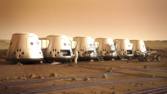 Marte in mostra a Milano