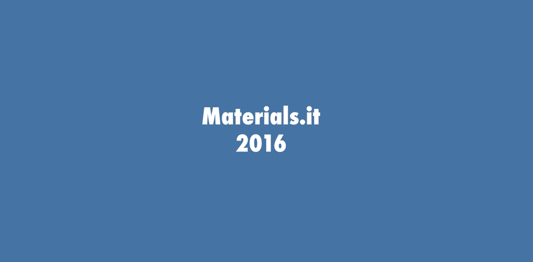 Materials.it 2016